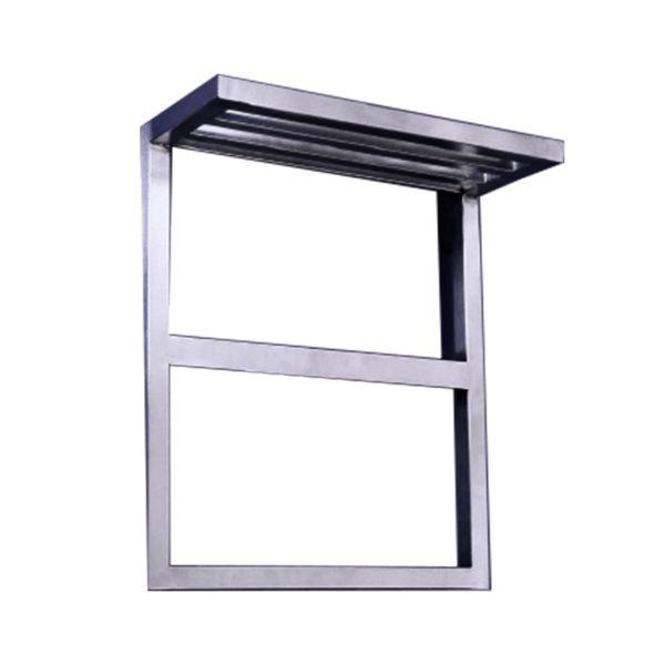 رادیاتور شیشه ای آرمیس | رادیاتور دکوراتیو استیل