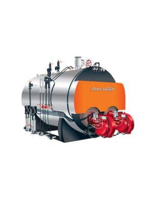 دیگ بخار افقی فایرتیوپ 2000 kg/hr