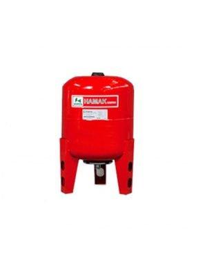 منبع انبساط بسته تحت فشار تیوپی 50 لیتری عمودی هاماک